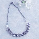 フラットスパイラルで編むネックレス/リラ(針・糸付)